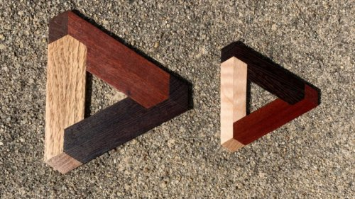 Cool project: Wood in nearly three dimensions