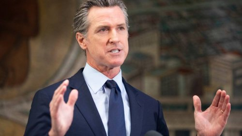 Man charged with assaulting Gavin Newsom in Oakland after 'aggressive' behavior, CHP says