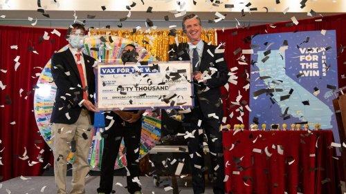 Watch live: Gavin Newsom draws second round of California vaccine lottery winners