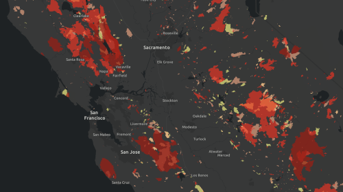 When did the forest near you last burn? Map shows 30 years of California wildfires