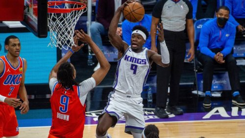 Kings still 'playing for something' after thumping Thunder to keep playoff hopes alive