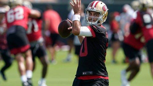 49ers takeaways: Jimmy G looks good now? Sanu is rebounding? Sermon earns handoffs?