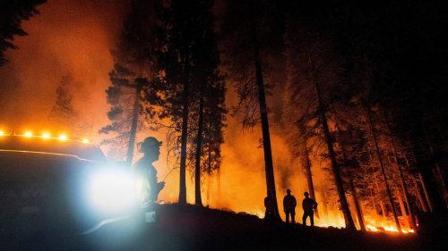 What's a red flag warning, and what does it mean for California fires?