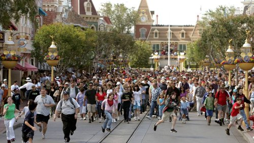Hopeful Disneyland fans wait for hours to get a ticket. 'Anxiety is through the roof'