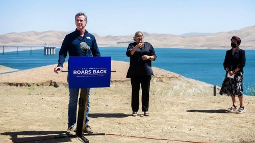 Gavin Newsom offers billions to fight climate change, drought, wildfires in California