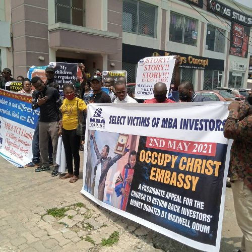 Victims Of Fraudulent Money-making Scheme Storm Christ Embassy Church In Port Harcourt, Demand Refunds