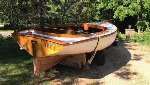 Wooden Boating - cover