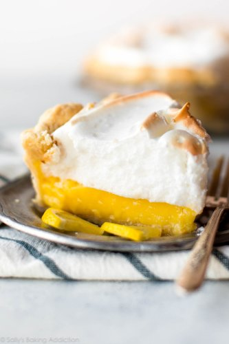 Classic Lemon Meringue Pie | Sally's Baking Addiction