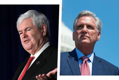 Newt Gingrich tries to prop up Kevin McCarthy's speaker campaign — against the Trumpers