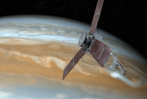 Scientists issue a forecast for Jupiter: Lightning with a chance of mushballs