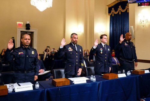 Conservatives go after Capitol police officers who testified before Jan. 6 commission