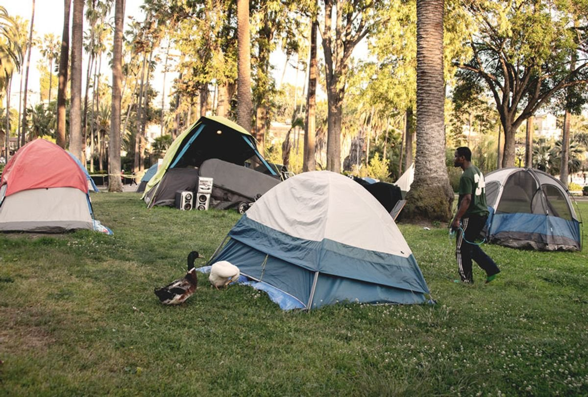 Wildfire smoke adds to compounding crises for the Bay Area's homeless