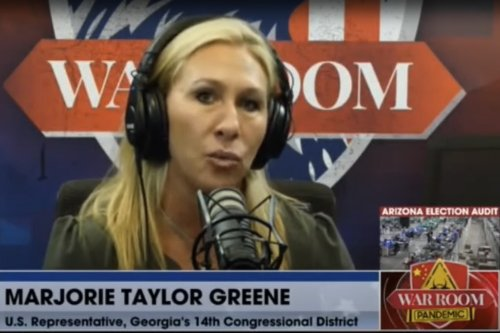 Marjorie Taylor Greene, asked about Liz Cheney, goes on anti-vaccine screed instead