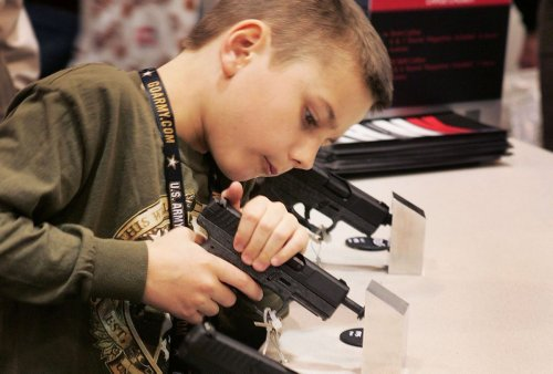 Gun manufactures quietly target young boys using social media