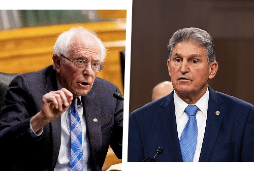 "Bernie Sanders has ""no problem with going to West Virginia"" to pressure Manchin on Biden proposals"