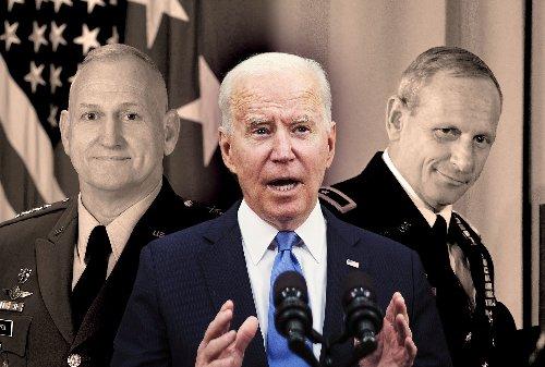 """Bizarre, shameful, and untrue"": Clinton comes to Biden's defense after generals attack his health"
