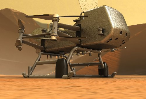 After Ingenuity's success, NASA looks to Saturn's moon for its next rotorcraft flight