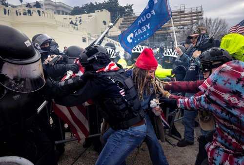 """Jan. 6 rioter's """"offensive"""" argument to judge lands him harsher sentence than prosecutors asked for"""