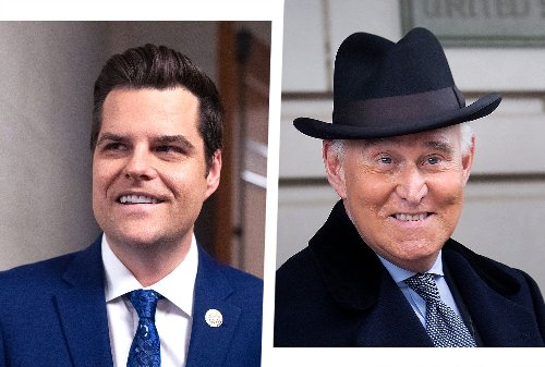 Roger Stone — no stranger to indictment — offers Matt Gaetz potentially disastrous advice