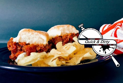 Why bother with burgers when you can have sloppy joe sliders?