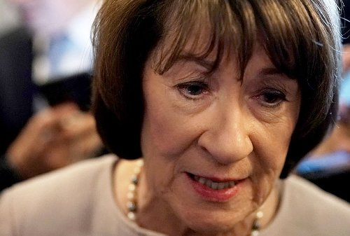 """Susan Collins shockingly reveals her """"first thought was that the Iranians"""" hit the Capitol"""