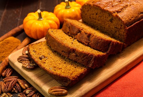 This easy pumpkin spice breakfast bread lets you embrace fall flavors