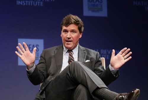 """In only 30 seconds, Tucker Carlson undermines his own argument about """"cancel culture"""""""
