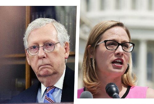 McConnell privately assures GOP that Kyrsten Sinema will kill Biden's tax hike on the rich: report