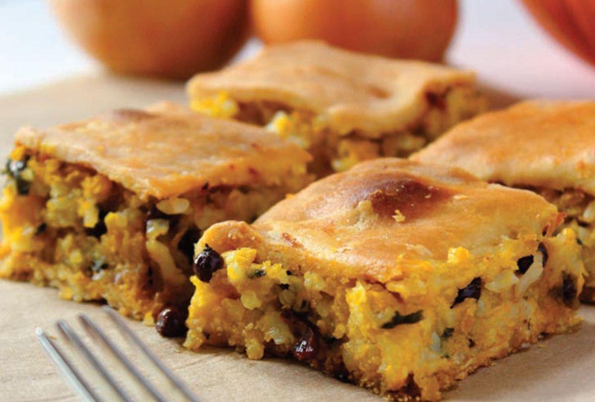 Greek pastry: Bake kolokythopita with pumpkin — not zucchini