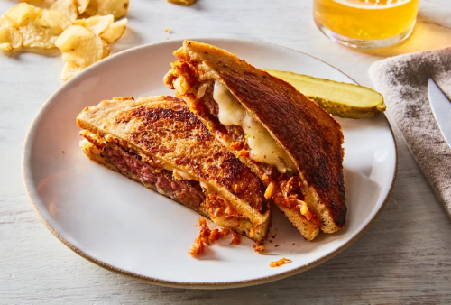 Is a patty melt a hamburger or a sandwich? Either way, it's the best