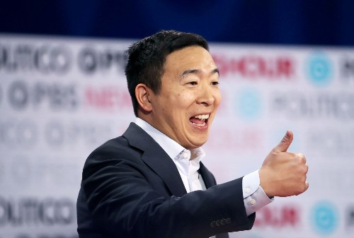 """Andrew Yang """"can't imagine"""" my New York City pandemic life"""