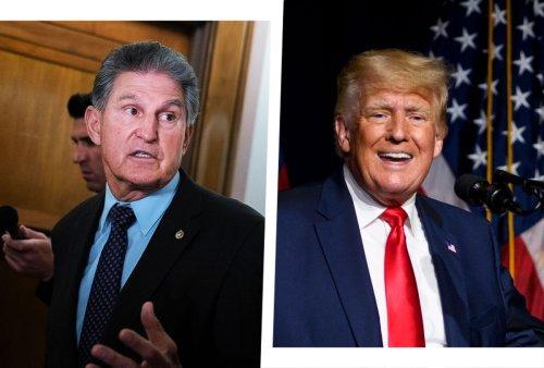 Joe Manchin and Donald Trump: The two men who threaten it all