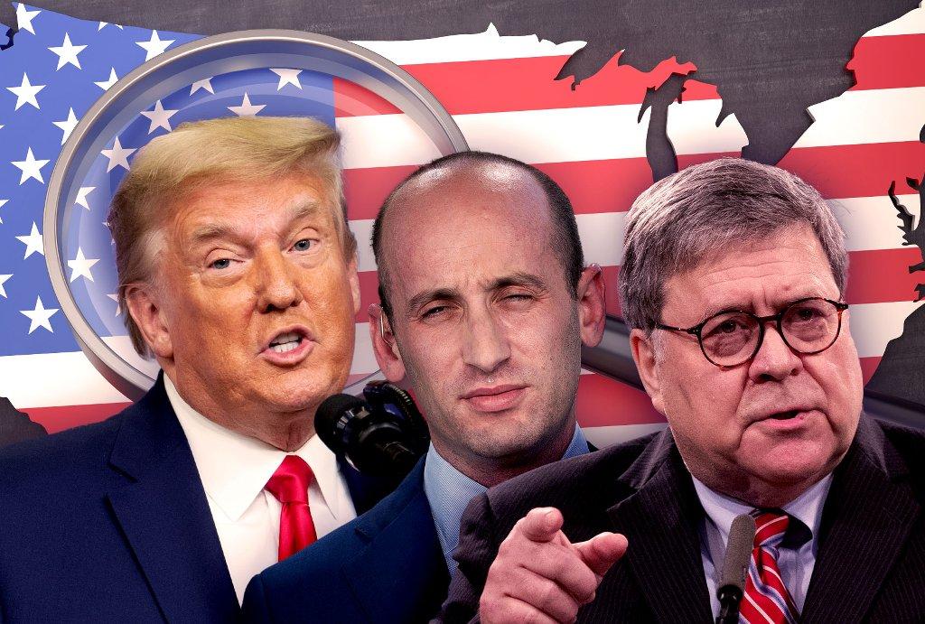 Trump's America - cover