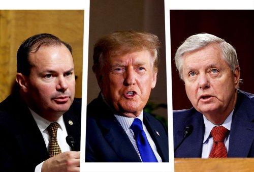 Trump lashes out at GOP senators, blames Lindsey Graham and Mike Lee for his failed coup attempt