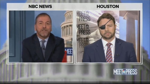 """Meet the Press"" gets heated as Chuck Todd spars with Dan Crenshaw over GOP's slide into Trumpism"