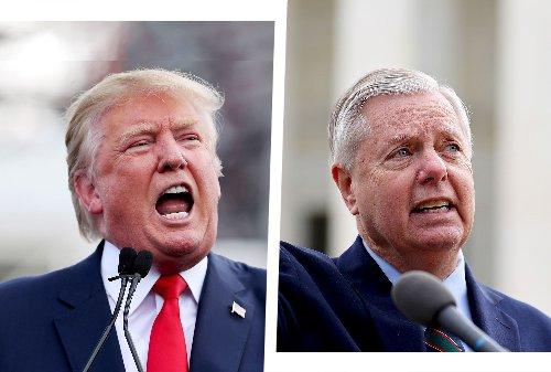 Senate Republicans split on the future of Trump and the GOP