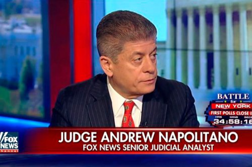 Judge Andrew Napolitano fired from Fox News after bombshell sexual harassment lawsuit: report