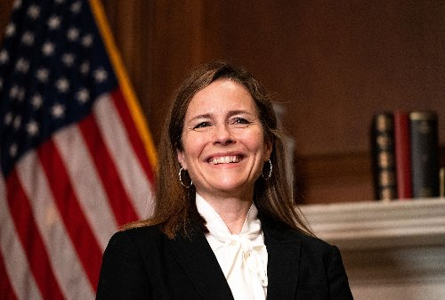 Amy Coney Barrett refuses to recuse herself from dark money case of Koch-funded group