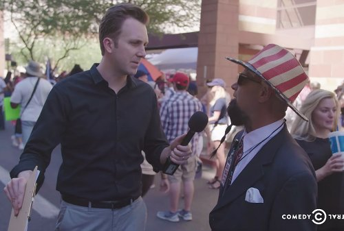 """""""Barron 2052"""": Jordan Klepper goes deep into the MAGAverse and finds frightening new Trump obsession"""