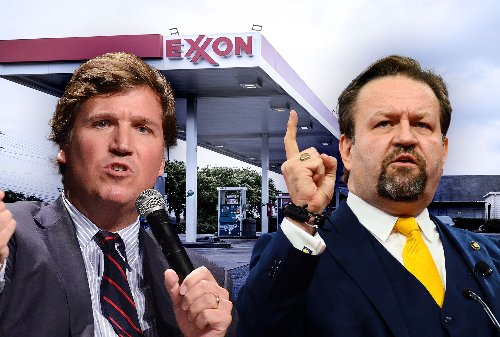 Right wing goes nuts over gas shortage, invents elaborate reasons why it's Biden's fault