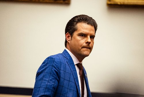 Ex-girlfriend of Matt Gaetz reportedly panicked over possible taped phone calls