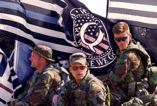 Military's most elite units share QAnon talking points in private Facebook group: report