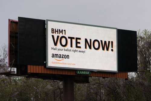 """Corporations like Amazon pay big bucks for """"union avoidance"""" — and it all happens in the dark"""