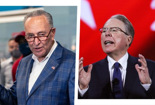 """""""NRA shot itself in the foot"""": Schumer calls on DOJ to investigate potential bankruptcy fraud"""