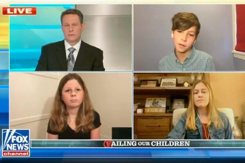 Fox host taken aback as 6th grader says Trump would have botched school reopenings