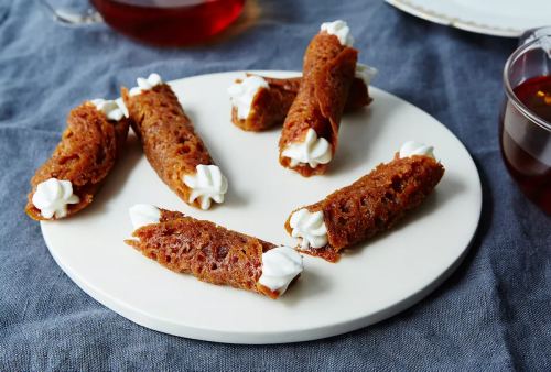 """All about Brandy Snaps, the lacy biscuit from """"The Great British Bake Off"""""""
