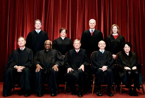 Is the U.S. Supreme Court now a Roman Catholic institution?