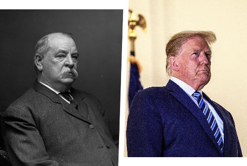 Sir, you're no Grover Cleveland: Donald Trump doesn't deserve two non-consecutive terms