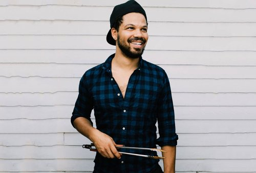 """Your entire family will love Jake Smollett's chicken taco lasagna: """"It goes a long way"""""""