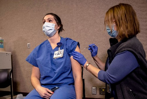 A healthcare worker explains what it's like to get the Pfizer vaccine